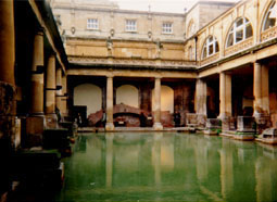 Baths at Aquae Sulis, Britain