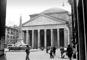 Pantheon, outside