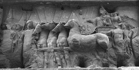 Arch of Titus - Coronation